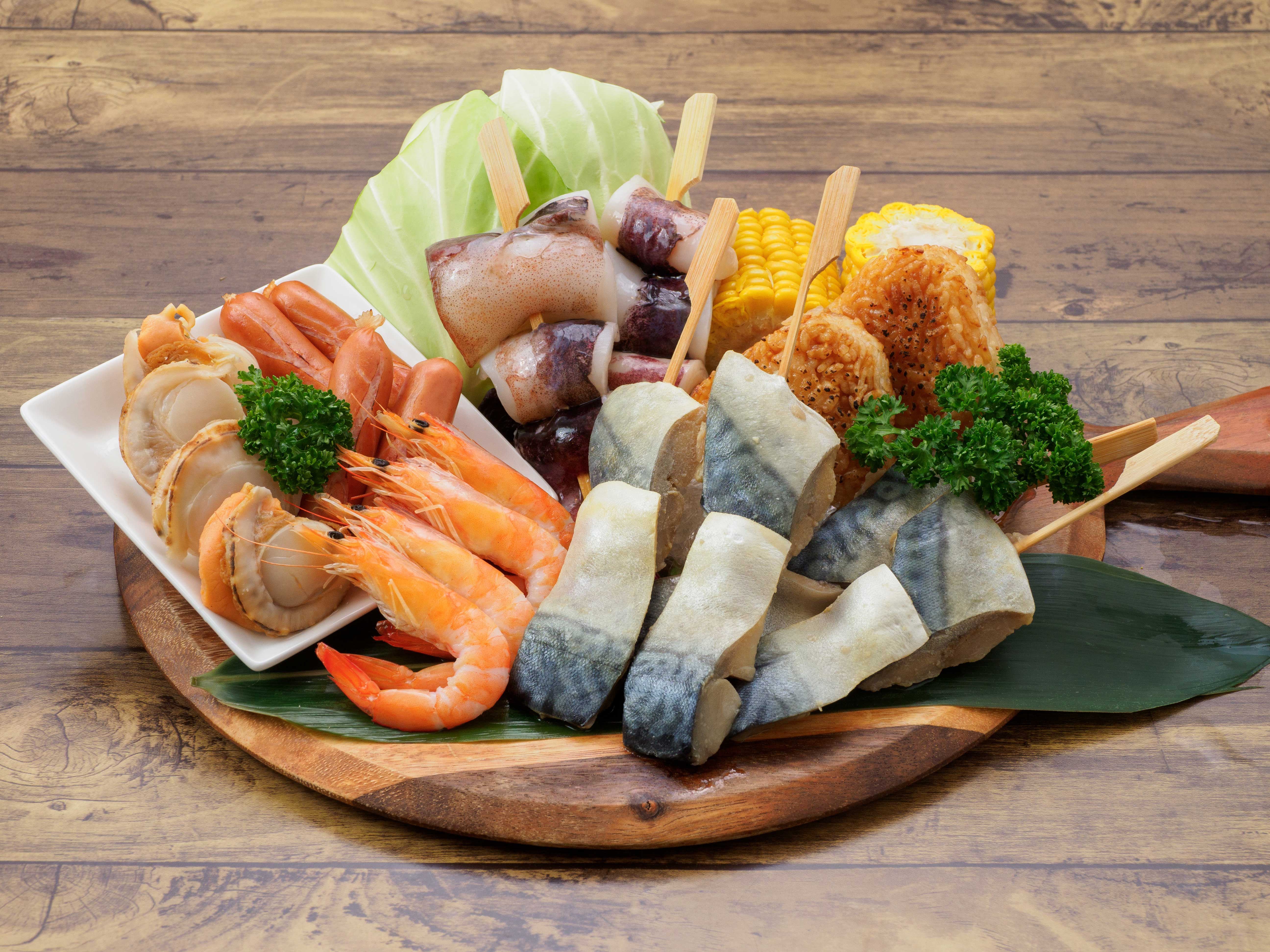 海鮮BBQセット
